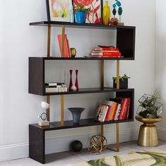 Addison Staggered Bookcase: