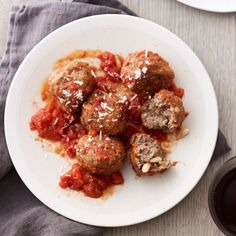 Frank Castronovo and Frank Falcinelli say that dried currants and pine nuts make these meatballs distinctly Sicilian.  Plus: More Italian Dishes ...