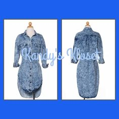 Denim Dress · Kandy's Kloset · Online Store Powered by Storenvy