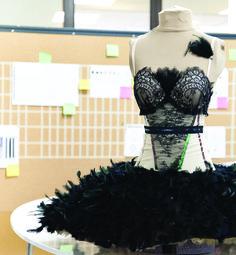 Tutu designed by lululemon for The National Ballet of Canada