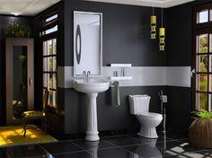 como decorar banheiro pequeno gastando - Pesquisa Google