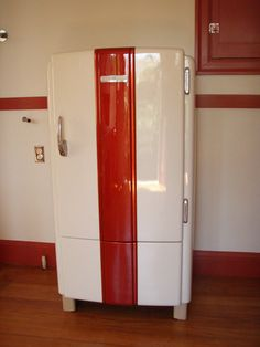 1940s General Electric refrigerator, customized in 2009
