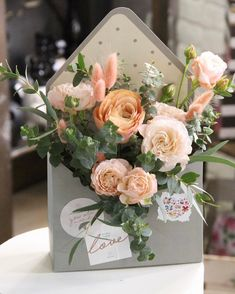 пишем о романтике самыми нежными красками #anflor #anflor_flowerbox