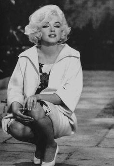 Marilyn Monroe on the set of Something's Got to... - Goddess Marilyn