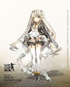 New T-Doll Desert Eagle : girlsfrontline - Gekiga Manga Anime School Girl, Anime Girl Neko, Anime Girl Cute, Manga Girl, Desert Eagle, Anime Military, Military Girl, Chica Fantasy, Anime Fantasy