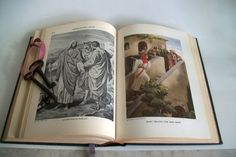 Vintage Bible Story Book Egermeir's Home Study by VintageHomeShop