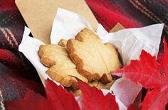 maple brown sugar shortbread cookies