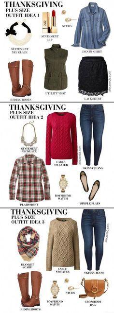 0eb0825bfa6 Plus Size Thanksgiving Outfits - Alexa Webb