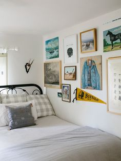 Porter's Boyish Vintage Kids Room - The Effortless Chic: Vintage Art Gallery Wall for a Boy's Room