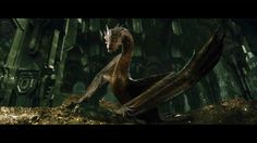 Smaug! When he shows off, some similar pose for my side tat :))