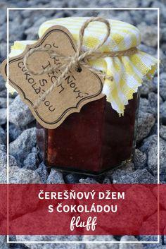 Čerešňovočokoládový džem dokonalý darček pre milovníka palaciniek
