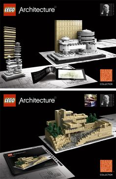 chances of you going to heaven, increase by 20% giving this: the lego edition of Frank Lloyd Wright...
