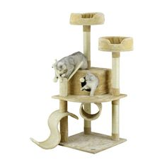 """55"""" Whiskers Cat Tree"""