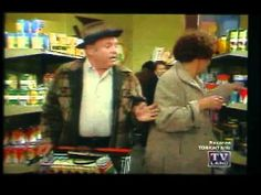 Archie Bunker Shopping With Edith