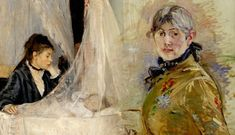 French artist Berthe Morisot was an active member of the Impressionist movement who painted almost exclusively women. Here are 10 of her most notable works.