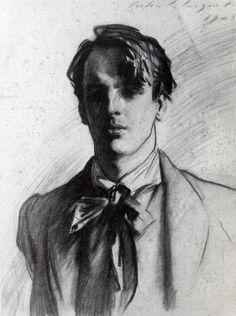 William Butler Yeats by John Singer Sargent, 1908