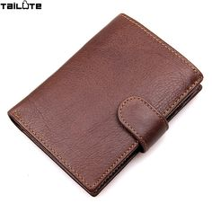 #PhoneHolders TAILUTE Brand Leather Wallet For Gift Business Genuine Leather Trifold Wallets Card Holder Short Design Solid Hasp Coin Purse ** AliExpress Affiliate's buyable pin. Locate the offer on www.aliexpress.com simply by clicking the VISIT button