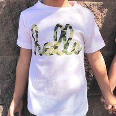 Hello Camo White Camo White Camo, Mens Tops, T Shirt, Fashion, Supreme T Shirt, Moda, Tee Shirt, Fashion Styles, Fashion Illustrations