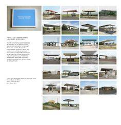 Eric Tabuchi's Twentysix Abandoned Gasoline Stations (France), Ed Ruscha inspired.