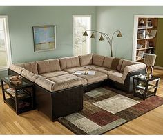 U Shaped Sectional On Pinterest