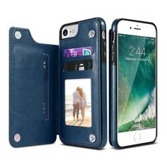 Custodia in ecopelle (eco-leather case) per iPhone 4-4S - Depop