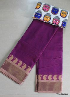 A must have for all cotton lovers, here we have got pure handloom sarees, soft cotton sarees, most of them are official wear. Sarees For Girls, Ethnic Sarees, Trendy Sarees, Handloom Saree, Cotton Saree, Flat Shoes, Blouse Designs, Pure Products, Suits
