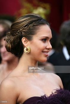 Actress Jessica Alba arrives at the 80th Annual Academy Awards held at the Kodak Theatre on February 24, 2008 in Hollywood, California.  (Photo by Frazer Harrison/Getty Images)