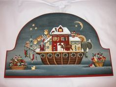 Betty Caithness Site   Betty Caithness is the designer and painter of Noah's Christmas Party ...