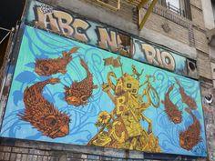 "'ABC No Rio' social centre that promotes ""do it yourself volunteerism, art & activism"""