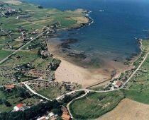 Bañugues, junto a Luanco, Gozón, Asturias.
