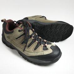 390c68dc123 Denali Women s Hiking Walking Shoes Lace Up Low Top Brown Sz 7 Leather