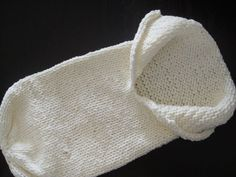 Knitted baby cocoon.. Need to finish mine...