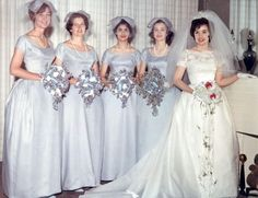 Bridesmaids of 1960s