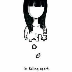 """Gefällt 19 Mal, 2 Kommentare - Girl,called Unicorn (@fvcking_human) auf Instagram: """"Wenn die Depression dich im Griff hat, wird das Leben zu Wasser. Die Luft um dich herum wird zu…"""""""