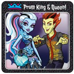 Abbey and Heath from Monster High