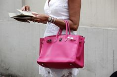 hot pink street style - Buscar con Google