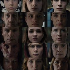 of the characters from the Netflix serie Dark. It's pretty hard to keep them apart! Do all white people look like each other? Netflix Series, Series Movies, Sci Fi Series, Dark Wallpaper, White People, Best Series, Cultura Pop, Episode 3, American Horror Story