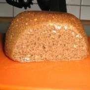 Rezept 8 minuten Mikrowellen Körner-Brot... Kinder lieben es von Sofia_1979 - Rezept der Kategorie Brot & Brötchen