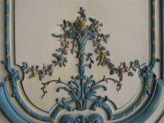 details of the Cabinet intérieur de la Dauphine by rosewithoutathorn84 on Flickr.