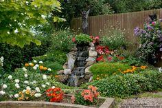 3 DIY Backyard WaterFall Ideas | Home Improvement Social Network