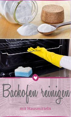 Mit diesen Hausmitteln kann man den Backofen schnell reinigen.