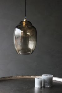 Giant Glass Shade - Smoke