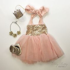 Fairy Dust Dress - found my daughter's first birthday outfit for sure.