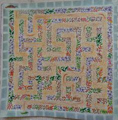 Labirinto - Livro: Jardim Secreto - fundo texturizado inspirado em video de Luciana de Queiróz