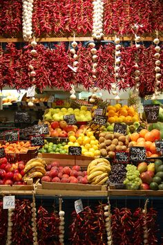 Great Market Hall, Budapest. I went here and it was so much fun! I would say it is great for walking around and buying simple little gifts to bring back. They did have a small place on the top level to buy lunch and that was very delicious. It reminded me of a huge train station with very tall ceilings. Beware though, the bathrooms cost money!