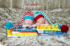 2 baby boy girl knitted long elf  twin hats by PreciousLittleBaby, $55.99