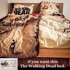 The Walking Dead Bed