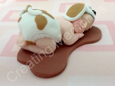 Dog Outfit Fondant Baby/Edible Cake Topper/girl cake topper/Fondant toppers/girl or boy cake topper, Cake Supplies and Decorations