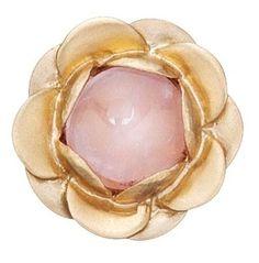 STORY Kranz & Ziegler Flower Gold Matte Rose Quartz