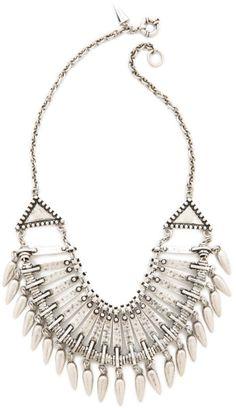Tribal Bib Necklace - Lyst